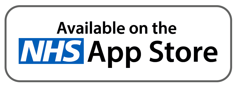 Available on the NHS App Store