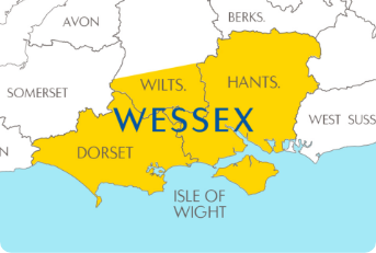 Map of Wessex